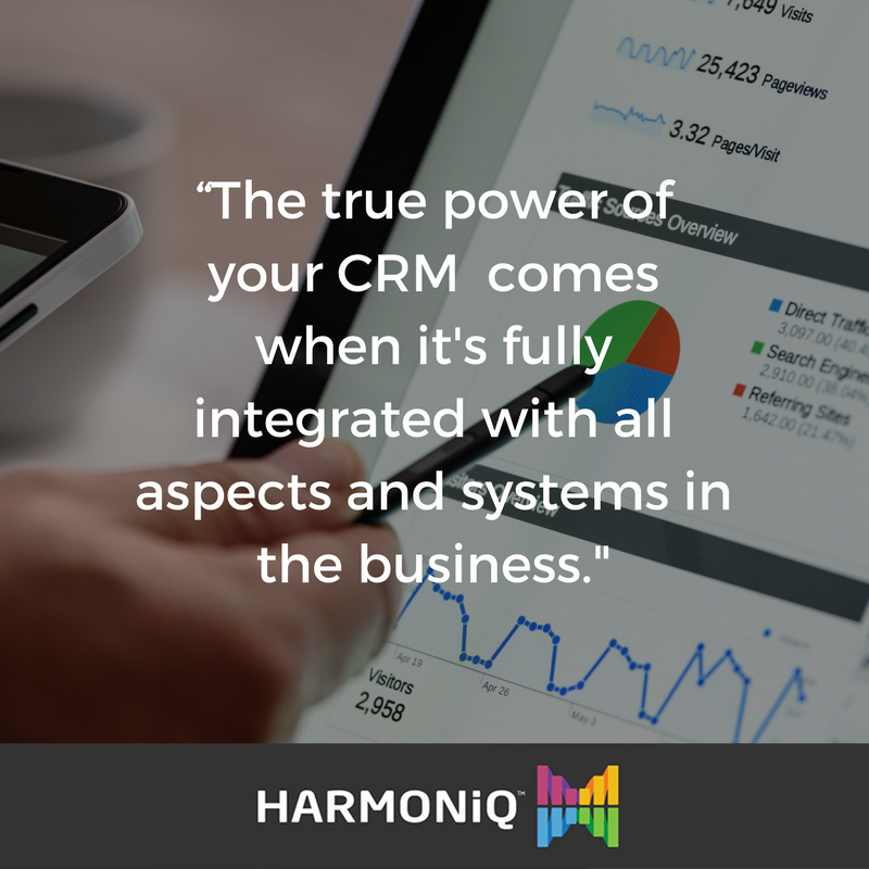 CRM Mistakes #4 Not integrating your CRM with other systems in the business